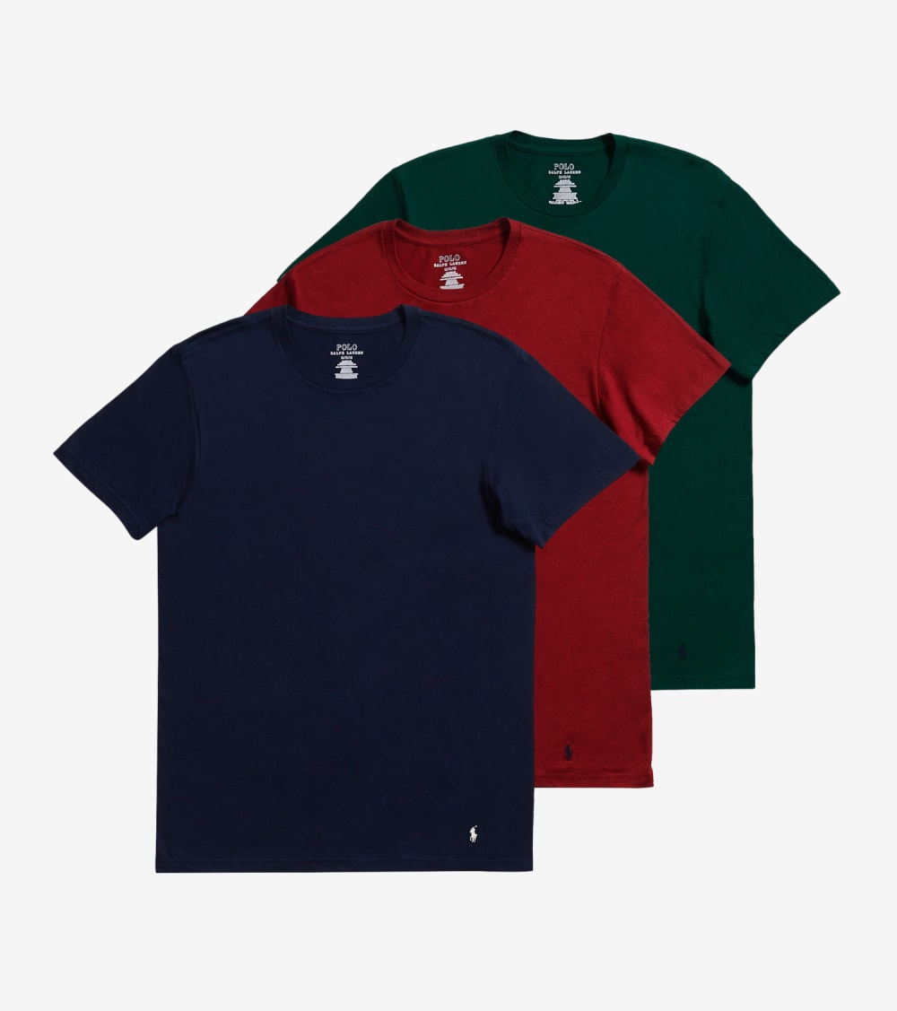 Polo 3 Pack Classic Fit Crews