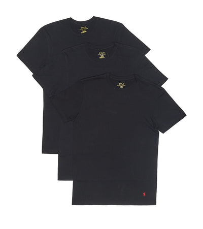 Polo  3 Classic Fit Crews  Black - RCCNP3-PBD | Jimmy Jazz