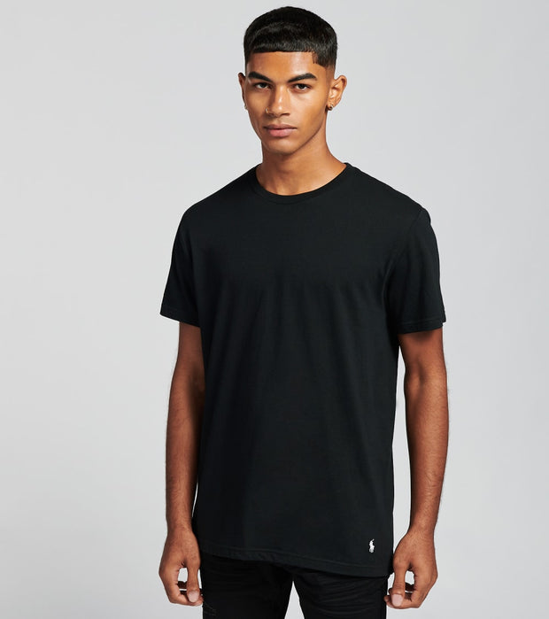 Polo  3 Pack Crew Tee  Black - RCCNS3-2QL | Jimmy Jazz