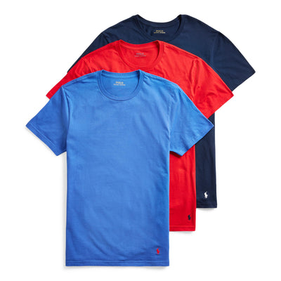 Polo  Classic Wicking Crew 3-Pack  Navy - RCCNS3-2R1 | Jimmy Jazz