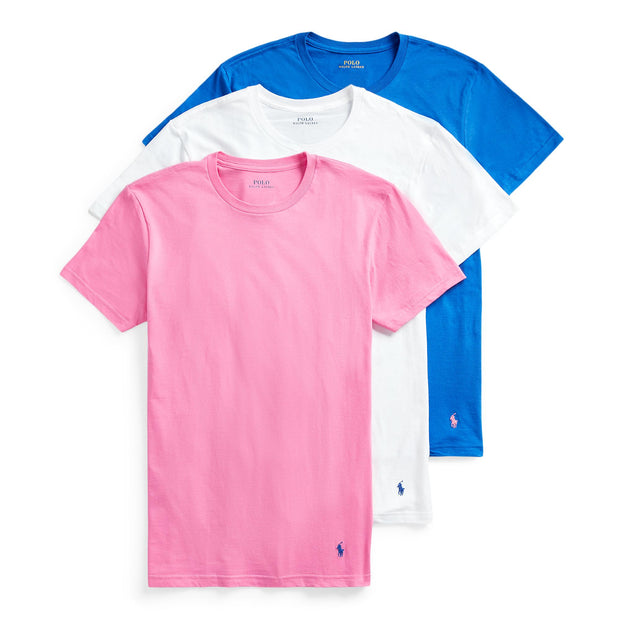 Polo  Classic Wicking Crew 3-Pack  Blue - RCCNS3-2SK | Jimmy Jazz