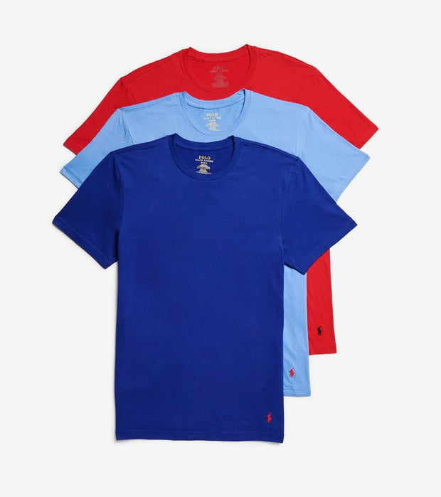 Polo  Crew Neck Tee 3 Pack  Multi - RCCNS3-AWMD | Jimmy Jazz