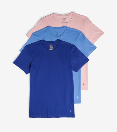 Polo  Crew Neck Tee 3 Pack  Multi - RCCNS3-AWOD | Jimmy Jazz