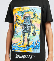 Reason  Basquiat Catch Short Sleeve Tee  Black - RCF20142-BLK | Jimmy Jazz