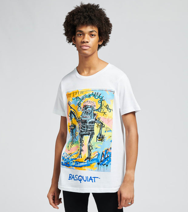 Reason  Basquiat Catch Short Sleeve Tee  White - RCF20142-WHT | Jimmy Jazz