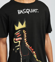 Reason  Basquiat Pez Short Sleeve Tee  Black - RCF20143-BLK | Jimmy Jazz