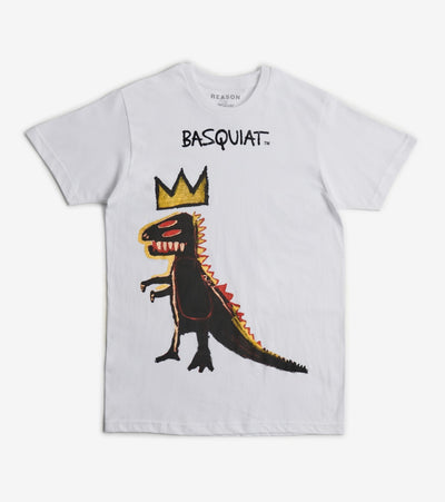 Reason  Basquiat Pez Dispenser Short Sleeve Tee  White - RCF20143-WHT | Jimmy Jazz