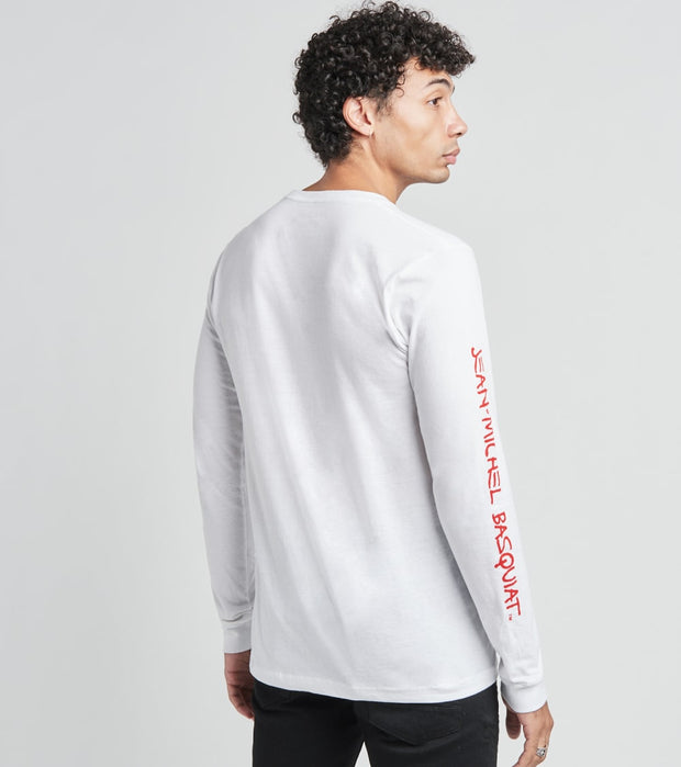 Reason  Basquiat Pez Long Sleeve Tee  White - RCF20143LS-WHT | Jimmy Jazz
