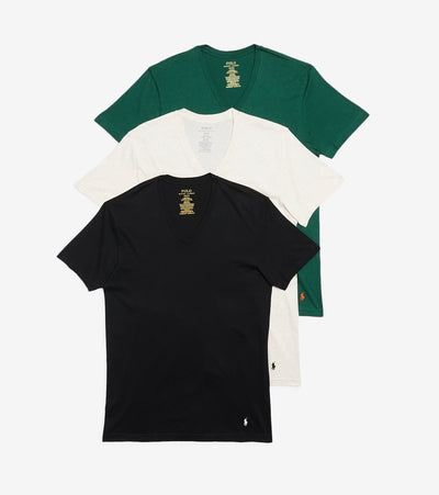 Polo  V Neck Tees 3 Pack  Multi - RCVNH3-AR3B | Jimmy Jazz