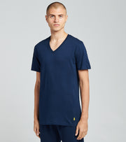 Polo  3 Pack V Neck Tee  Navy - RCVNH3-AR7B | Jimmy Jazz