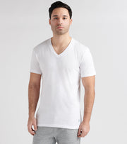 Polo  3 Classic Fit V-Neck Tee  White - RCVNP3-G2M | Jimmy Jazz