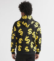 Freeze  Dollar Signs and Money Bags Hoody  Black - RH50001-BLK | Jimmy Jazz
