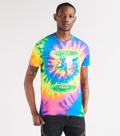 Ripple Junction  Flo Rainbow Tee  Multi - RMAS2705-MLT | Jimmy Jazz