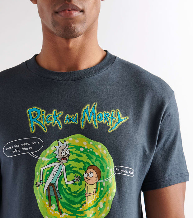 Ripple Junction  Rick and Morty Short Sleeve Tee  Navy - RMAS3141-NVY | Jimmy Jazz