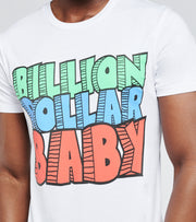 Billion Dollar Baby   Rocks Tee  White - ROCKSTEE-WHT | Jimmy Jazz