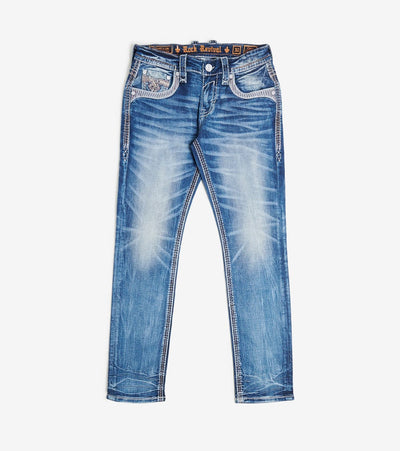 Rock Revival  Couri Jean  Blue - RP2351A203-COU | Jimmy Jazz