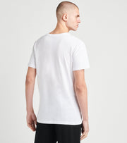 Polo  Slim Crew Neck Tees 3 Pack  White - RSCNP3-WHD | Jimmy Jazz