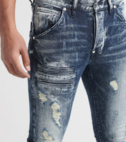 Rock Star  Pierre Jeans  Blue - RSM200ORT-IND | Jimmy Jazz