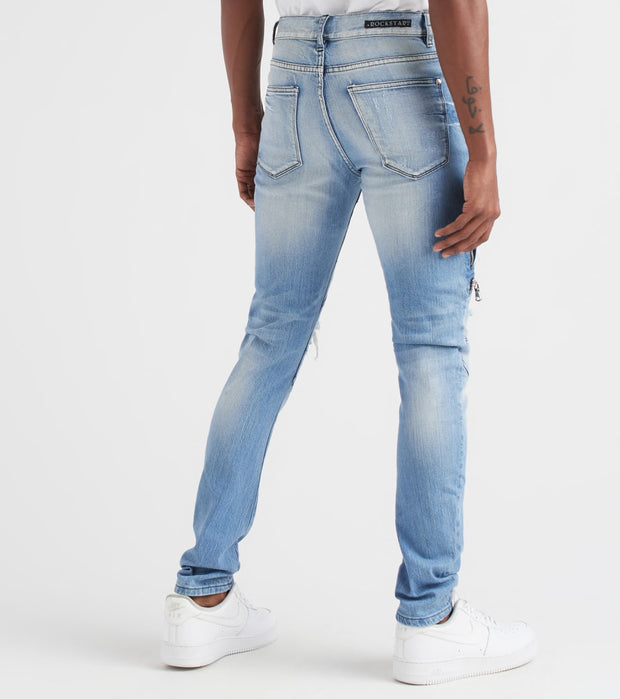 Rock Star  Gunner Jeans  Blue - RSM207ORT-MBL | Jimmy Jazz