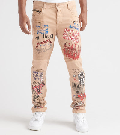 Rock Star  Koontz Jeans  Beige - RSM214BLL-BGE | Jimmy Jazz