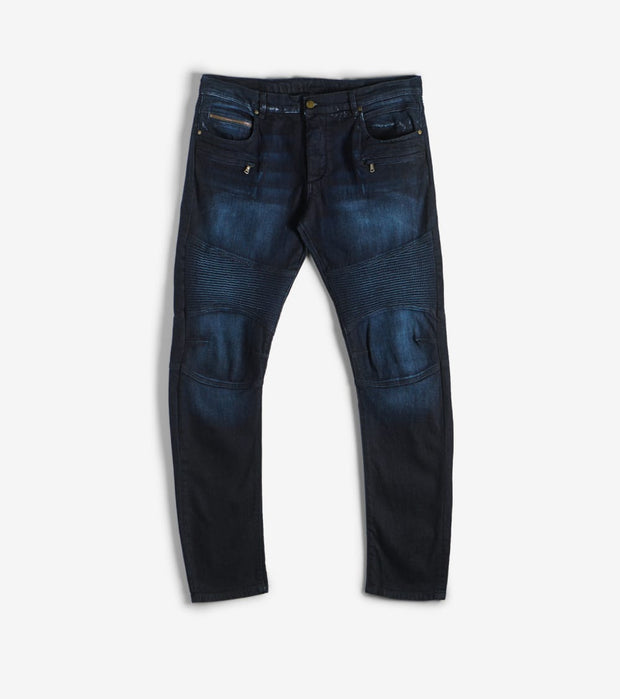 Rock Star  Moto Jeans  Navy - RSM214ORT-DKW | Jimmy Jazz