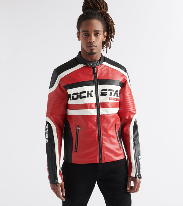 Rock Star  Thunder Jacket  Red - RSM349-RED | Jimmy Jazz
