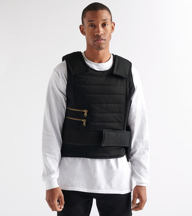 Rock Star  Tactical Vest  Black - RSM5006BLL-BLK | Jimmy Jazz