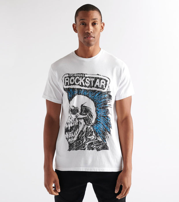 Rock Star  Bleed Em All Tee  White - RSM5050BLD-WHT | Jimmy Jazz