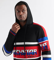 Rock Star  Stanford Pullover Hoodie  Black - RSM733SW-BLK | Jimmy Jazz