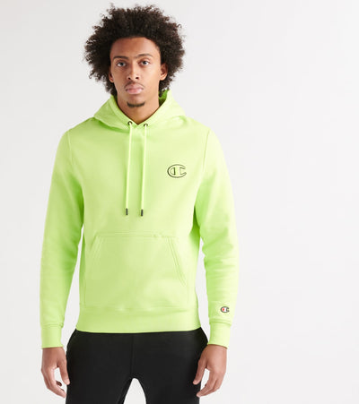 Champion  Fleece Pullover Hoodie  Green - S4962549320-4XV | Jimmy Jazz