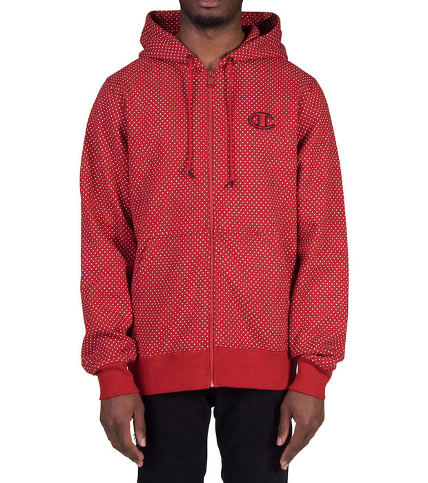 Champion  Champion Super Fleece 2.0 Hoodie  Red - S4963P549320-OM4 | Jimmy Jazz