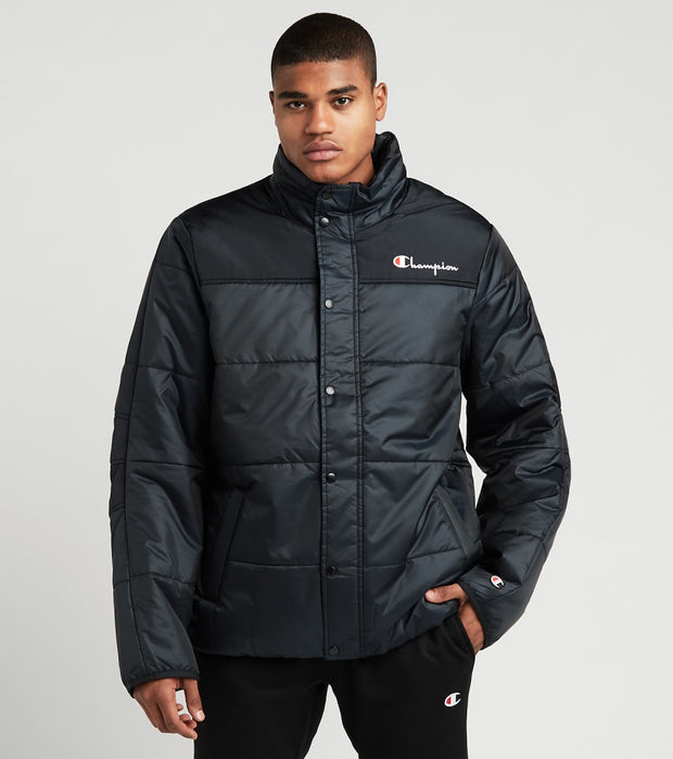 Champion  Puffer Jacket With Packable Hood  Black - S7479549724-003 | Aractidf