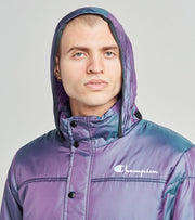 Champion  Puffer Jacket With Packable Hood  Purple - S7479549724-A8EA | Aractidf