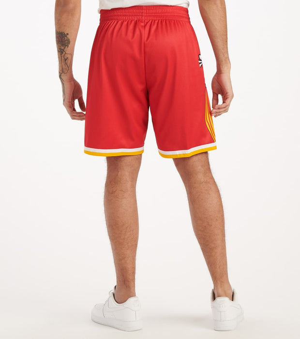Mitchell And Ness  Big Face Rockets Shorts  Red - SHORBW19069-HOU | Jimmy Jazz