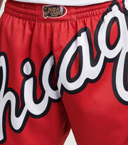 Mitchell And Ness  Chicago Bulls Blown Out Shorts  Red - SHORBW19147CBU-RED1 | Jimmy Jazz