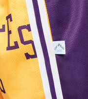 Mitchell And Ness  Los Angeles Lakers Blown Out Shorts  Gold - SHORBW19147LAL-LTGD | Jimmy Jazz