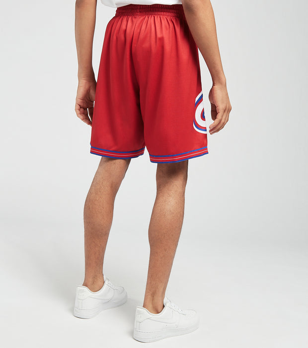 Mitchell And Ness  76ers Blown Out Shorts  Red - SHORBW19147P76-RED1 | Jimmy Jazz