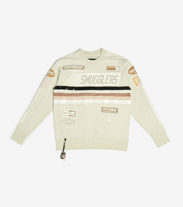 Smugglers Moon  Smugglers 100Proof Crewneck Top  Grey - SMCS012-HOA | Jimmy Jazz