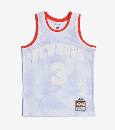 Mitchell And Ness  Cloudy Skies Starks Swingman Jersey  Blue - SMJYBW19061NYK-BLU | Jimmy Jazz
