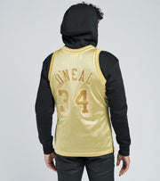 Mitchell And Ness  Midas Swingman O'Neil Jersey  Gold - SMJYBW19079LAL-GLD | Jimmy Jazz