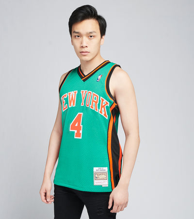 Mitchell And Ness  NY Knicks Nate Robinson Swingman Jersey  Green - SMJYGS20013NYK-KYGN | Jimmy Jazz