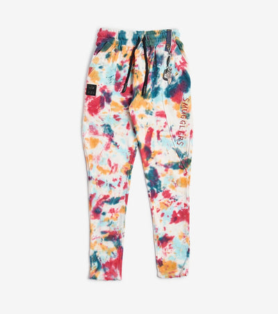 Smugglers Moon  Smugglers Tie Dye Joggers  Multi - SMKB013-TDY | Jimmy Jazz