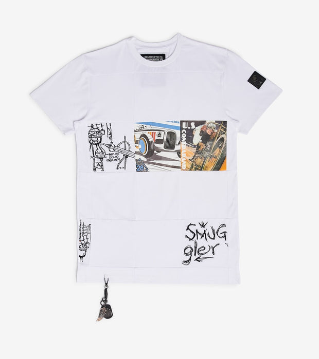 Smugglers Moon  Smugglers Trifecta Tee  White - SMKT005-WHT | Jimmy Jazz