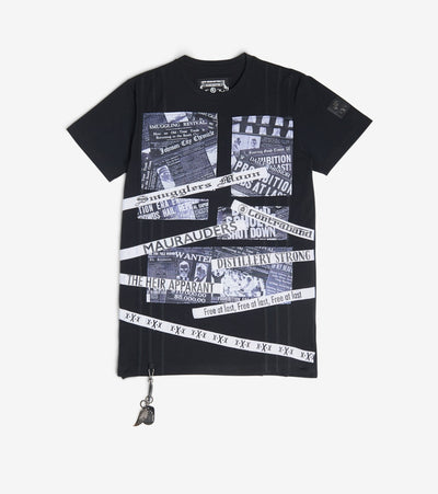 Smugglers Moon  Distillery Tee  Black - SMKT011-WHT | Jimmy Jazz