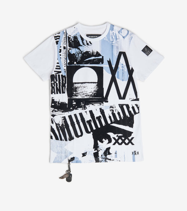 Smugglers Moon  Moonshine Tee  White - SMKT021-WBL | Jimmy Jazz