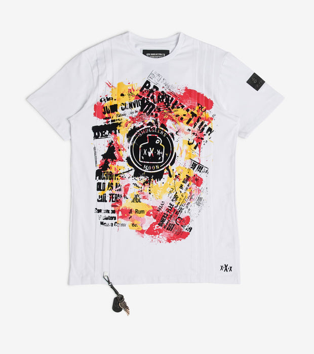 Smugglers Moon  Smugglers Tee  White - SMKT022-PWT | Jimmy Jazz
