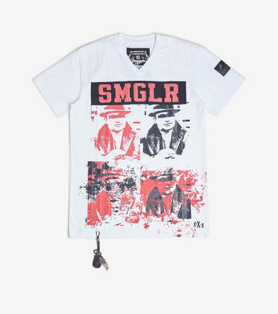 Smugglers Moon  SMGLR Tee  Black - SMKT026-PWT | Jimmy Jazz