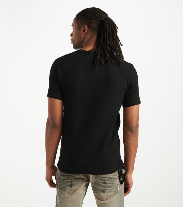 Smugglers Moon  Contraband Collage Tee  Black - SMKT1067-BLK | Jimmy Jazz