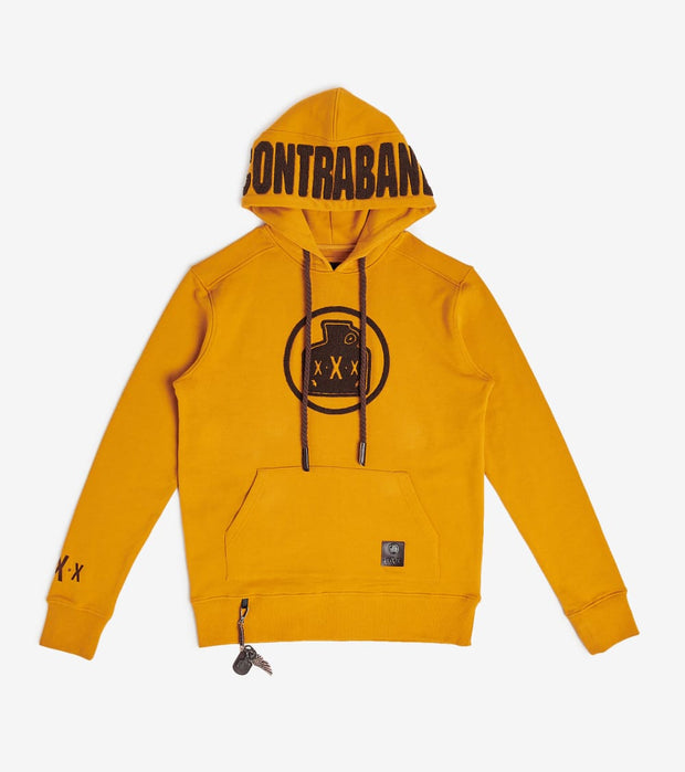 Smugglers Moon  Contraband Bottle Hoodie  Yellow - SMKT1071-TMB | Jimmy Jazz