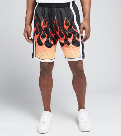 Mitchell And Ness  Los Angeles Lakers Swingman Shorts  Black - SMSHBW19137LAL-BLCK | Jimmy Jazz